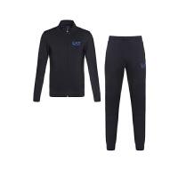 EMPORIO ARMANI EA.7阿玛尼男士深蓝色棉质拉链卫衣运动裤套装6XPV59PJ05Z 1578 M码