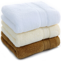 [当当自营]三利 长绒棉缎档毛巾3条装34x76cm颜色随机 高毛圈加厚款