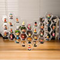 蜡笔小新公仔手办摆件模型动感超人玩具卡通圣诞情人节儿童礼品物