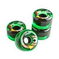 滑板轮子 专业公路滑板配件 PU滚轮套装 多尺寸可选