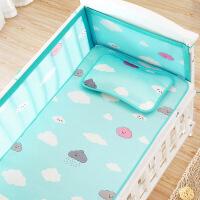 【家装节 夏季狂欢】婴儿凉席冰丝儿童床幼儿园宝宝专用席夏季新生儿午睡