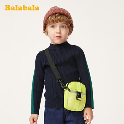 巴拉巴拉男童针织衫毛衣宝宝秋冬2019新款童装线衣百搭长袖毛衫男