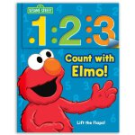 英文原版 芝麻街:阿莫学数数翻翻书 Sesame Street: Count with Elmo!