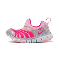 【到手价:281.4元】耐克(Nike)童鞋 毛毛虫儿童鞋 舒适运动休闲鞋CI1187-686 中粉/透明粉/白金色/