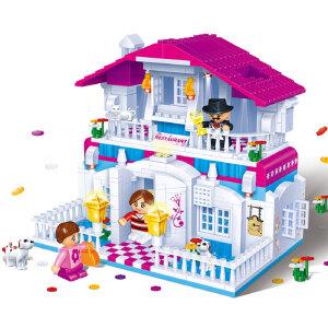 【当当自营】邦宝益智拼装积木小颗粒儿童女孩玩具建筑礼物 快乐餐厅6103