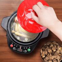 大容量家用陶瓷煮粥锅电砂锅炖锅自动电炖锅煲汤锅 3L汤煲+底座