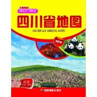 四川省地图(年度新版)