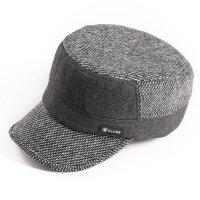 韩版潮男士鸭舌帽棒球帽户外休闲平顶军帽遮阳
