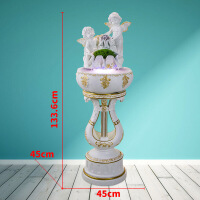 欧式加湿器摆件客厅装饰品创意落地开业礼品 .