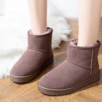 雪地靴 女士加绒加厚保暖雪地靴2019秋冬新款女式学生休闲百搭运动鞋子