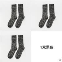 袜子男士纯棉袜毛圈加厚保暖中筒复古粗线毛巾加绒潮