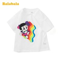 【葫芦娃IP款】巴拉巴拉儿童短袖T恤男童上衣宝宝夏装棉