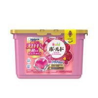宝洁日本进口 Bold 洗衣球凝珠 粉色花果香