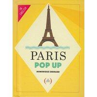 【现货】英文原版 巴黎立体书 Paris Pop-up 趣味迷你立体书34P 掌上儿童书 小开本 97823619340