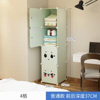 衣柜简易宿舍单人布塑料单门收纳小号组装出租房女生卧室柜子
