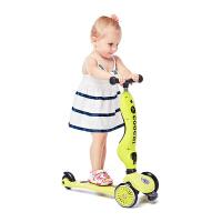 COOGHI/酷骑儿童滑板车多功能平衡折叠踏板车3轮二合一2-7岁
