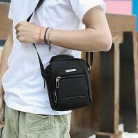 新款手提男士小包包防水牛津布尼龙男包单肩包斜挎包运动休闲手机背包