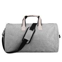 旅行包男大容量手西服包多功能西装袋收纳商务折叠行李包 大