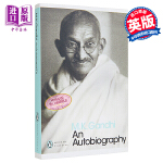 【中商原版】An Autobiography by Mahatma Gandhi 甘地自传 传记 英文原版