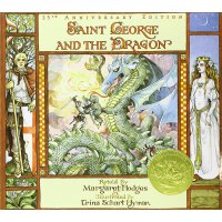 英文原版 Saint George and the Dragon (1985 Caldecott Medal Winner) 《圣乔治和龙》(1985年凯迪克金奖绘本) ISBN 9780316367950