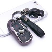 ?用于别克钥匙包 套新君越昂科威汽车钥匙壳扣昂科拉君威改装GL6?