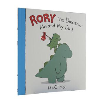 【中商原版】罗里的恐龙:我和我爸爸 Rory the Dinosaur漫画 Liz Climo
