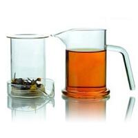 玻璃茶杯三件式鹰嘴泡茶器260ml玻璃杯茶杯办公水杯花茶杯创意男女泡茶家用杯子