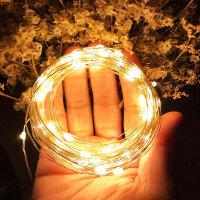 USB装饰彩灯铜线灯串闪灯圣诞节日灯带星星寝室宿舍卧室led小灯串