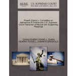 Powell (Diana) v. Committee on Admissions & Grievances U.S.