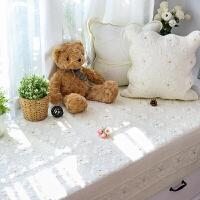 卧室阳台飘窗垫现代简约北欧风纯棉布艺飘窗垫窗台垫防滑双面全棉榻榻米坐垫婴儿爬爬垫沙发垫子