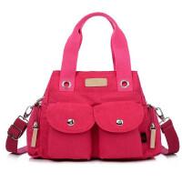 女包手提包单肩包斜挎包轻便防水尼龙布包多层时尚运动包