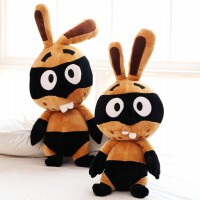 兔子毛绒玩具 海盗兔公仔娃娃玩偶 创意生日礼物女