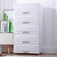 欧式鞋柜收纳柜子抽屉式多功能储物柜塑料自由衣物整理箱子五斗柜