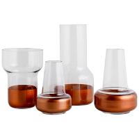 20191129103608938北欧现代简约水培玻璃花瓶水养大号玫瑰透明大敞口客厅插花摆件