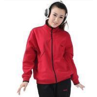 女套装 大码套装 运动开衫套装 中老年女士运动服开衫翻领运动套装棉质休闲大码卫衣309