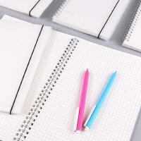 笔记本文具康奈尔a5本子横线空白网格本记事本随身方格办公线圈本