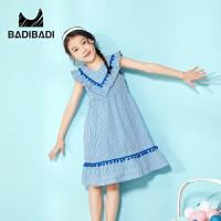 【99选3】巴拉巴拉旗下 巴帝巴帝潮流童装女童夏新款时尚淑女连衣裙