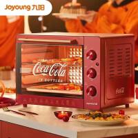 九阳 Joyoung 可口可乐联名款家用多功能专业32升大容量烘焙电烤箱精准控温专业烘焙烘烤蛋糕饼干 KX32-J95X
