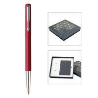 PARKER 派克威雅红色胶杆宝珠笔/星梦奇缘笔记本礼盒