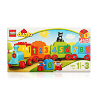乐高得宝系列 10847 数字火车 LEGO DUPLO 积木玩具