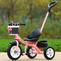 米赛特脚踏车 宝宝儿童三轮车1-3-5-2-6岁大号玩具手推自行车童车