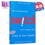 【中商原版】[英文原版]Switch: How to Change Things When Change Is Har