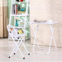 空大38*58*70简易家用便携式可折叠餐桌儿童写字桌小户型小方桌电脑桌折叠桌