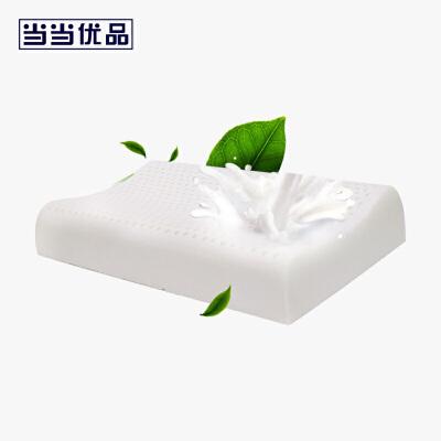 当当优品 进口天然乳胶枕芯 儿童平滑曲线枕头 43*25*6cm当当自营 SUKKAPA制造商代工