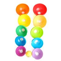 费雪婴幼儿层叠彩虹叠叠杯碗 儿童叠叠乐 宝宝益智早教玩具K7166