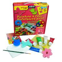 法国贝碧欧 儿童水粉颜料套装6x20ml'花朵'主题迷你套装635702C