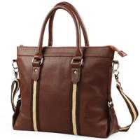 男包 商务休闲手提包单肩包男士公文包电脑包 14寸