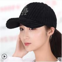 韩版棒球帽女防晒鸭舌帽户外运动嘻哈帽休闲时尚鸭舌帽遮阳帽