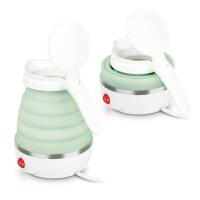 家用迷你便携 折叠烧水壶 旅行电热水壶