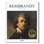 包邮 现货 Taschen原版 350周年纪念版新封面 荷兰史上黄金时代伟大画家Rembrandt伦勃朗艺术绘画画册